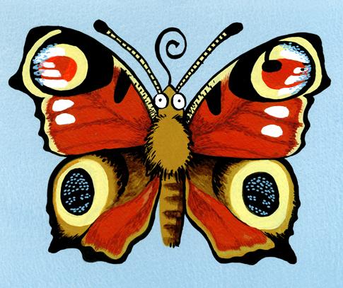 sommerfugl l