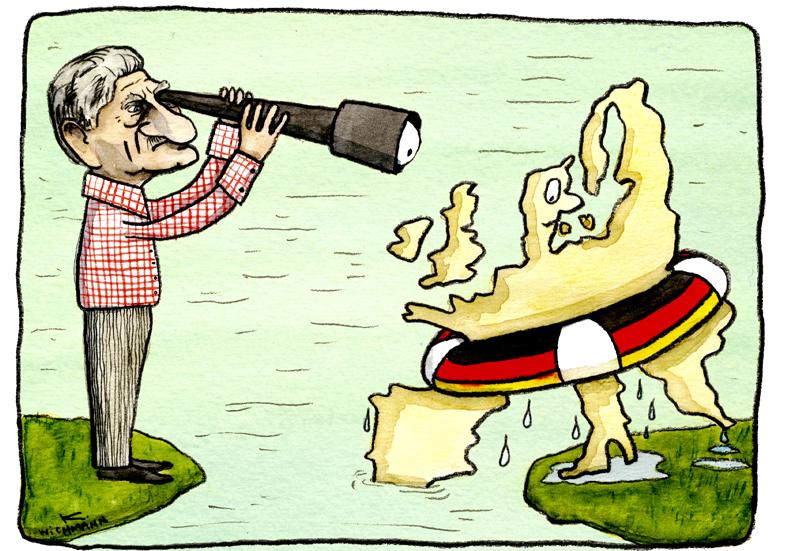 Lykketoft og Tyskland l