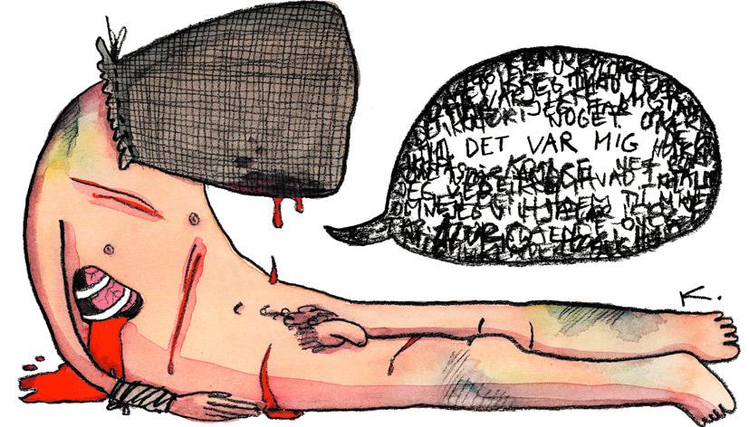 tortur får ofret til at sige hvad som helst